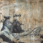 FONTANA TREVI - 100 x 250 tela