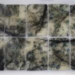 Alberi vertigine - 120 x 76 resina
