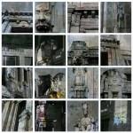 Dettaglio Centrale - 170 x 170 singola tela 40 x 40