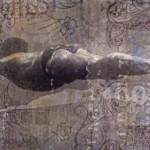 Uomo abissi - 200 x 100 iuta